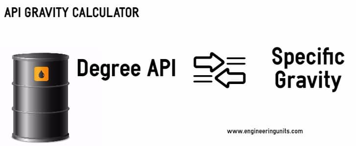 Api Gravity Calculator Crude Oil Api Gravity Chart