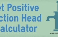 Net Positive Suction Head Calculator - Online Calculator