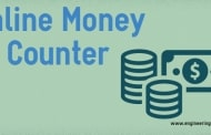 Online Money Counter - Cash Calculator