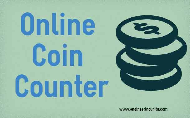 online coin counter