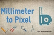 Millimeter to Pixel Conversion (mm to pixels online converter)