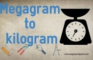 Megagram to kilogram Conversion (Mg to kg) Online converter.