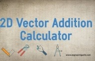 2D Vector Addition Calculator