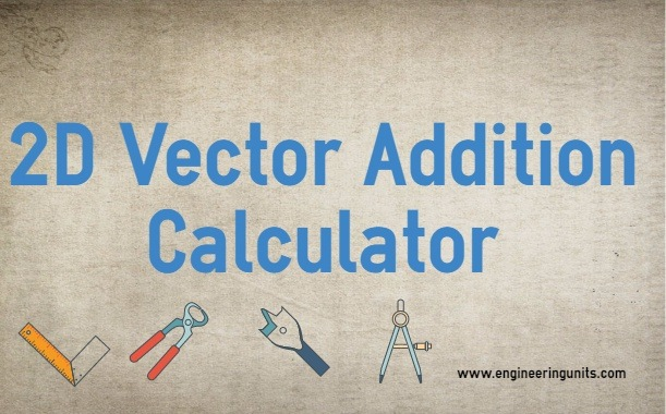 2D Vector Addition Calculator - Engineering Units