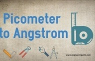 Picometer to Angstrom Conversion Calculator, (pm to A)
