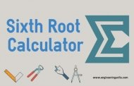 Sixth Root Calculator Online