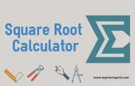 Square Root Calculator - Online Engineering Calculator