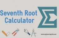 Seventh Root Calculator - Online Engineering Calculator