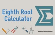 Eighth Root Calculator