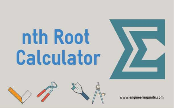 Nth Root Calculator