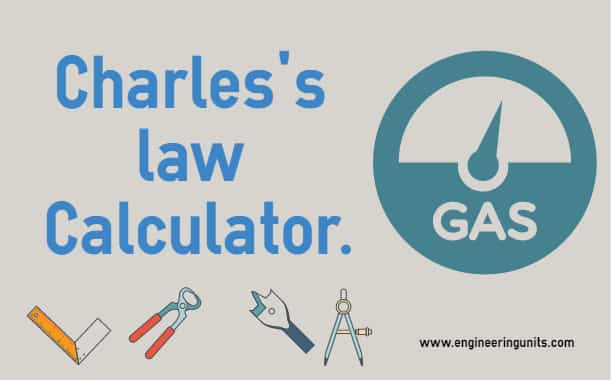 Charles's law Calculator