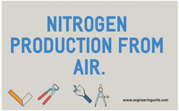 NITROGEN PRODUCTION FROM AIR.